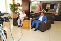 KENTSEL DÖNÜŞÜM PROJESI - Başkan Akdoğan, Kanal A Televizyonunun Konuğu Oldu