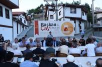 SU ARITMA TESİSİ - 'Başkan İle Çay Sohbetleri' Hisarardı Mahallesiyle Devam Etti