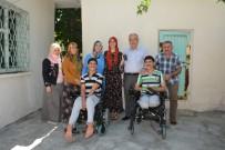 HAYIRSEVER İŞ ADAMI - Başkan Kutlu'dan Engelli Kardeşlere Sürpriz Ziyaret
