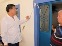 İSMAIL ALTıNDAĞ - Başkan Mehmet Kocadon Depremzedeleri Ziyaret Etti