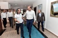 ABDULLAH ÖZER - Bingöl Valisi Mantı, Başkan Akgül'ü Ziyaret Etti