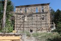 RESTORASYON - Büyükşehir, Yanan Tarihi Camiyi Restore Ediyor
