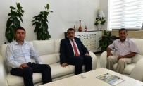 SELAHATTIN GÜRKAN - CHP İl Başkanı Kiraz'dan, Belediye Başkanı Gürkan'a Ziyaret