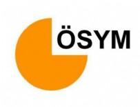 ÖSYM - DGS'nin soru ve cevapları ÖSYM sitesinde yayınlandı