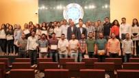 MURAT YILMAZ - Dış Ticaret Eğitimi Kursiyerleri Törenle Sertifikalarını Aldı