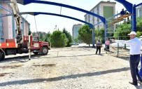 NAMIK KEMAL - Dulkadiroğlu Belediyesi'nden Doğukent'e Modern Pazar Yeri