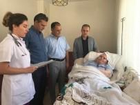 SAĞLIK HİZMETİ - Evde Sağlık Hizmeti Alan Hastalar Ziyaret Edildi