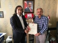AYDOĞMUŞ - Kızılay'dan 26 Yıllık Emektarına Gümüş Madalya