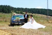 ÇEKIM - Klasik Otomobil Evlenen Genç Çiftlerin Yeni Gözdesi