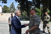 MAHMUT HERSANLıOĞLU - Korgeneral Temel, Hatay Valisi Ata'yı Ziyaret Etti