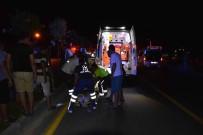 SAĞLIK EKİPLERİ - Ortaca'da Motosiklet Kazası; 2 Yaralı