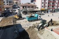KANALİZASYON - Selendi'nin Su Taşkını Sorunu Ortadan Kalkıyor