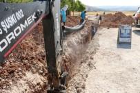 KANALİZASYON - ŞUSKİ Yağmursuyu Hattı Döşeme Çalışmalarına Hız Verdi