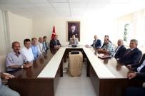 ALİ HAMZA PEHLİVAN - Vali Ali Hamza Pehlivan, Muhtarlarla Toplantılara Devam Ediyor