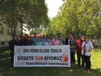 SAĞLIK HİZMETİ - Vize Devlet Hastanesi Şifa Veren Ele Vefa İstiyor