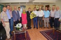 HİLMİ YAMAN - AHİD Başkanı Yaman'dan Ankaragücü Başkanı Yiğiner'e Ziyaret