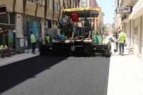 KARACADAĞ - Akdeniz'de Asfalt Çalışmaları Devam Ediyor
