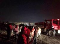 İTFAİYE ERİ - Ali Dağı'ndaki Yangına Orman Bölge Müdürlüğü 49 Personel İle Müdahale Etti