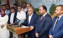 NİHAT ÇİFTÇİ - Bakan Fakıbaba, Büyükşehir Belediyesini Ziyaret Etti