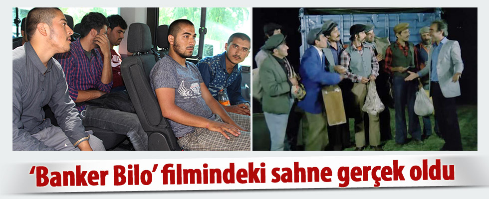 'Banker Bilo' filmindeki sahne Sivas'ta gerçek oldu