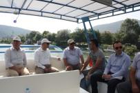 NUSRET DIRIM - Bartın Valisi Dirim, Gazetecilerle Tekne Turunda Buluştu