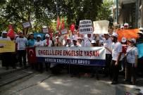 LALE KARABıYıK - Başkent'te Engellilerden Atama Talebi