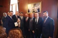 GENEL BAŞKAN YARDIMCISI - Cumhurbaşkanı Erdoğan'a Kırmızı Dipli Mum İle Davet