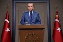 ALTIN MADALYA - Erdoğan'dan Altın Madalya Kazanan Sporculara Tebrik
