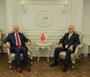 ESKİŞEHİR - Eskişehir Valisi Çakacak'tan ETO Başkanı Güler'e Ziyaret
