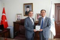NACI KALKANCı - Güney Kore Büyükelçisi Yunsoo Cho'dan Vali Kaykancı'ya Ziyaret