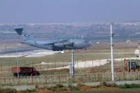 İNCIRLIK - İncirlik Hava Üssü'nde Askeri Hava Hareketliliği