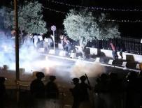 SES BOMBASI - İsrail polisi namaz sonrası cemaatte saldırdı: 13 yaralı