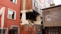 EVDE ÇALIŞMA - İstanbul'da Doğalgaz Patlaması Açıklaması 1 Yaralı