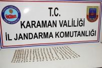 DEREKÖY - Karaman'da Çok Sayıda Sikke Ele Geçirildi