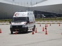 TEST SÜRÜŞÜ - Kars 112'Ye Ambulans Sürüş Teknikleri Eğitimi Verildi