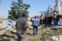 KALENDER - Kırıkkale'de Trafik Kazası Açıklaması 1 Ölü, 2 Yaralı