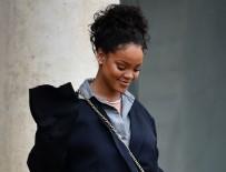 RIHANNA - Macron, şarkıcı Rihanna ile görüştü