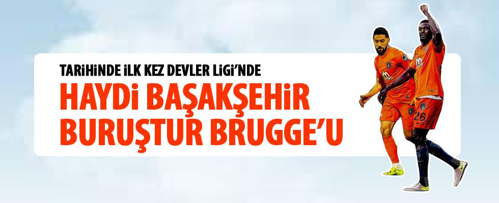 Medipol Başakşehir avantaj için sahada