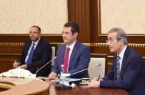 ASKERİ EĞİTİM - Özbekistan Cumhurbaşkanı Mirziyoyev, Milli Savunma Bakanı Canikli'yi Kabul Etti