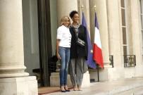 RIHANNA - Rihanna, Fransa Cumhurbaşkanı Macron'la Görüştü
