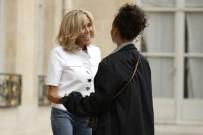 RIHANNA - Rihanna, Fransa Cumhurbaşkanı Macron'la Görüşüyor