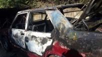 AMATÖR KAMERA - Sakarya'da Otomobil Alev Alev Yandı