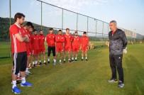 SAMET AYBABA - Sivasspor'un Bolu Kampı Sona Erdi