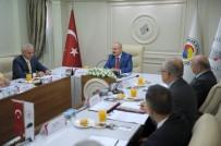 ESKİŞEHİR - Vali Çakacak, İl İstihdam Kurulu Toplantısına Başkanlık Yaptı