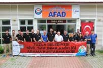 TUZLA BELEDİYESİ - AFAD, Tuzla Belediyesi Sivil Savunma AKT Ekibine 'Arama Kurtarma' Eğitimleri Verdi