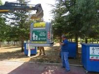 İLKBAHAR - Ahlatlıbel'e De Yeni Çöp Sistemi