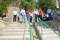 MEHMET ŞAHIN - Akçakoca'da Mahalle Gezisi
