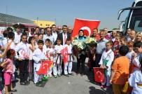 HÜSEYIN AKSOY - Altın Kız Gamze Eskişehir'e Geldi
