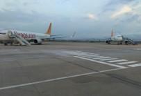 FRANKFURT - Aşırı Yağış Sebebiyle Uçaklar Bursa'ya İndi