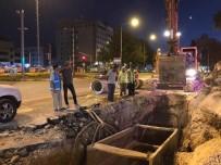 YAZ MEVSİMİ - Atatürk Bulvarındaki Alt Yapı Çalışmaları Hızlandı